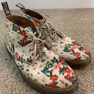 Dr. Martens Daytona Floral Boots